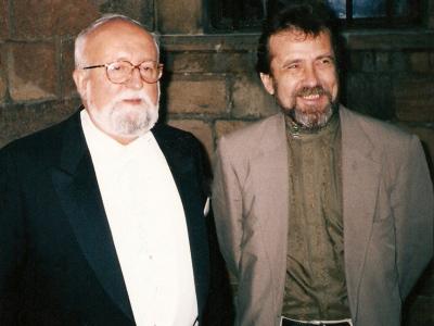 Krzysztof Penderecki and Konstantin Vilensky, Poland, 2001