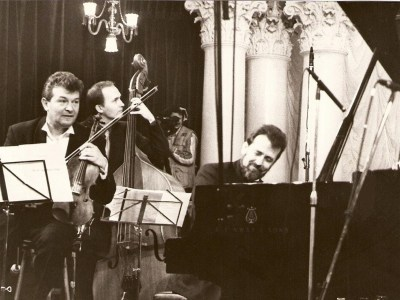 Vadim Brodski, Tomasz Kupiec, Konstantin Vilensky -  Column Hall, named after M.Lysenko National Philharmonic Society of Ukraine, Kiev, 10.12.99