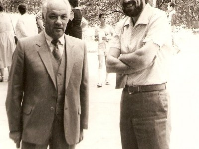 Vladimir Fairtag and K. Vilensky, Moscow, 1988