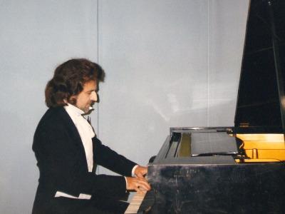 """K. Wileński - jako F.Chopin w spektaklu """"Wesele"""" S. Wyspiańskiego"""