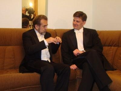 Konstanty Wileński i Ilya Derbiłow, Khabarowsk, 2011 r.