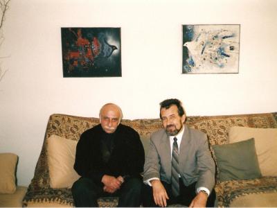 Гия Канчели и К.Виленский, Антверпен, 2000