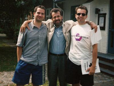 Питер Яблонский, Константин Виленский, Патрик Яблонский на Международном Музыкальном Фестивале им. Бетховена в Фальстербо, Швеция, июль, 1998