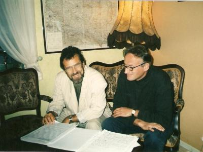 К.Виленский и Кшесимир Дембский, Варшава, 1999