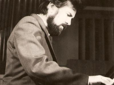 На концерте в Малом Зале Киевской Государственной Консерватории, Киев, 1985
