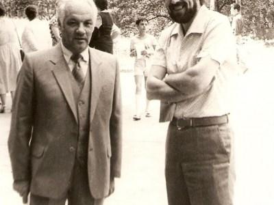 Владимир Феертаг и К.Виленский, Москва, 1988