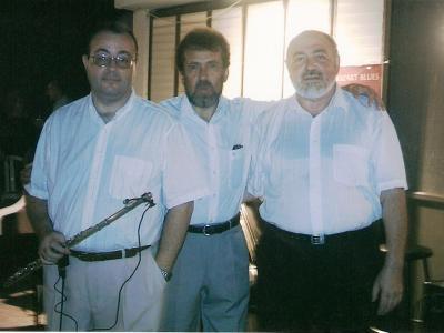 А.Коган, К.Виленский, Г.Литвин, Иерусалим, 2005