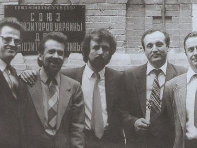К.Виленский с квартетом им. Леонтовича