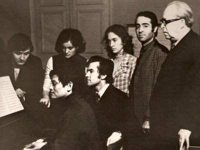 Класс профессора А.Штогаренко (1974)
