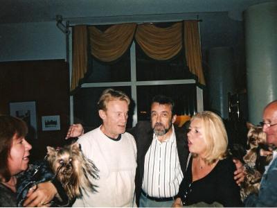 На Фестивале Звёзд в Мендзыздроях с Даниелем Ольбрыхским, 2005
