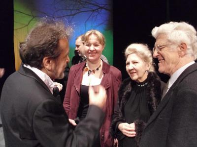К.Виленский, А. Żvirblyte, В.Носина, А. Ясиньский на Международном Форуме Пианистов, Санок, 2014
