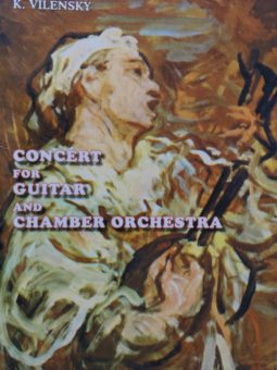 Concert for Guitar and Chamber Orchestra, transcription for Guitar and Piano