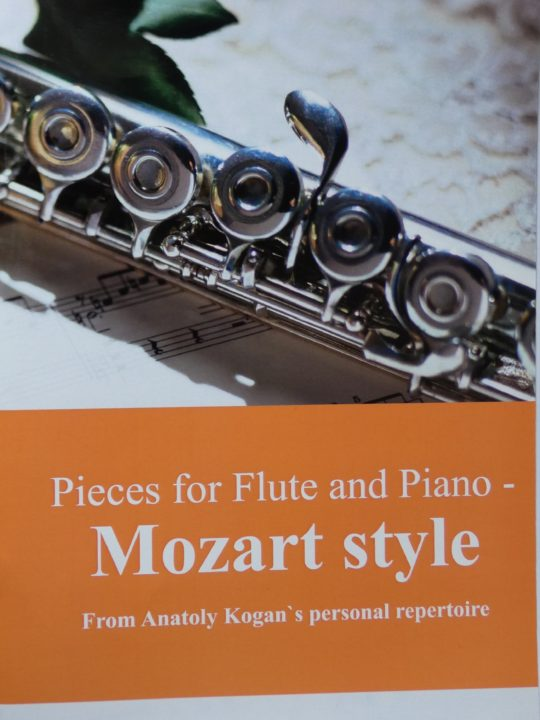 MOZARTOWSKI STYL - utwory na flet i fortepian