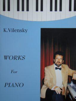 """Konstanty Wileński. Utwory fortepianowe """"Wariacje na tematy Chopina"""" na fortepian (trio jazzowe) i orkiestrę smyczkową (3 części)"""