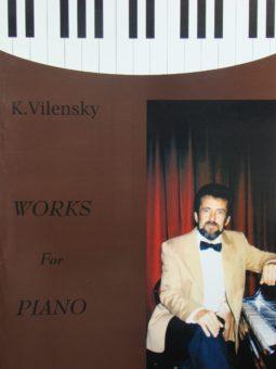 """Konstanty Wileński. Utwory fortepianowe """"Wariacje na tematy Beethovena"""" na fortepian (trio jazzowe) i orkiestrę symfoniczną (3 części)"""