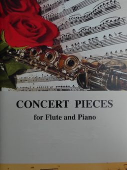 Koncertowe utwory na flet i fortepian